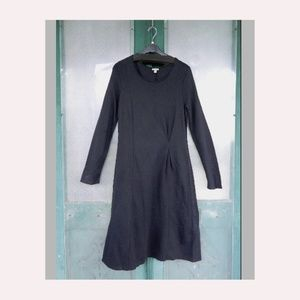 J. Jill Long Sleeve Black Dress